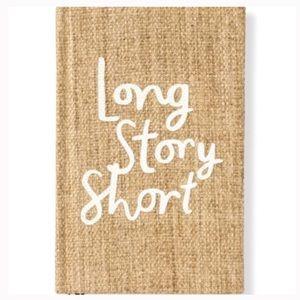 Kate Spade Long Story Short Notebook Journal